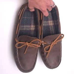 L.L.Bean | Flannel Lined Handsewn Slippers